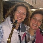 Fröhliche Saxofone