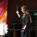Hannah Riemers schwingender Taktstock